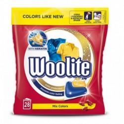 Woolite Mix Colors Kapsułki do prania z keratyną 28szt