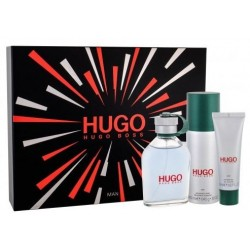 Hugo Boss Hugo Man (Green) Woda toaletowa 125ml spray + Dezodorant 150ml spray + Żel pod prysznic 50ml