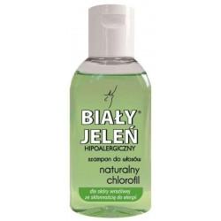 Biały Jeleń Hipoalergiczny szampon do włosów Naturalny Chlorofil 50ml