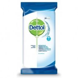 Dettol Antybakteryjne i drożdżakobójcze chusteczki do mycia i dezynfekcji powierzchni 84szt