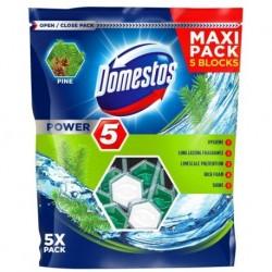 Domestos Power 5 kostka toaletowa Pine 5x55g