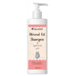 Nacomi Almond Oil Shampoo szampon do włosów z olejem ze słodkich migdałów 250ml
