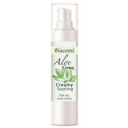 Nacomi Aloe Cream aloesowy krem-żel do twarzy wszystkie rodzaje skóry 50ml