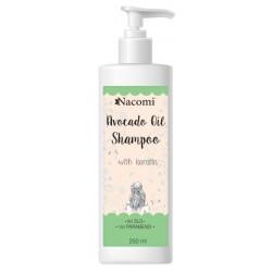 Nacomi Avocado Oil Shampoo szampon do włosów z olejem avocado 250ml