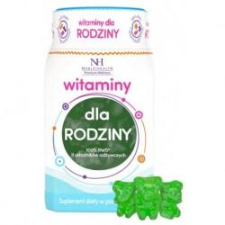 Noble Health Premium Wellness witaminy dla rodziny suplement diety w postaci żelek 300g