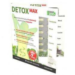 Noble Health Suplement diety wspomagający detoksykację organizmu i prawidłowe funkcjonowanie układu trawiennego 21 kapsułek