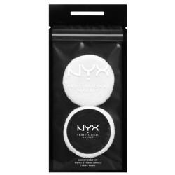 NYX Compact Powder Puff gąbeczka do pudru 2szt