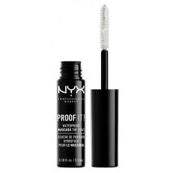 NYX Professional Makeup Poof It Waterproof Mascara Top Coat wodooporny tusz wykańczający do rzęs PIMT01 Coloress 5.5ml