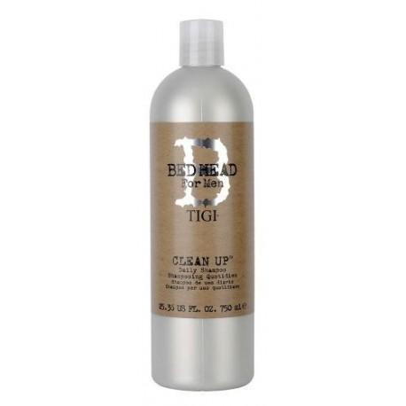 Tigi Bed Head For Men Clean Up Daily Shampoo szampon do włosów dla mężczyzn 750ml