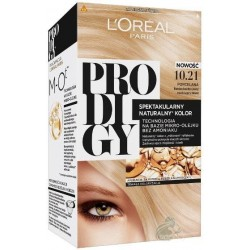 L`Oreal Prodigy Farba do włosów 10.21 Bardzo Bardzo Jasny Opalizujący Blond
