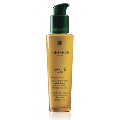 Rene Furterer Karite Nutri Intense Nourishing Day Cream Intensywnie odżywiający krem do włosów bardzo suchych 100ml