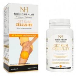 Noble Health Premium Wellness Get Slim Cellulite tabletki redukujące cellulit 45 tabletek