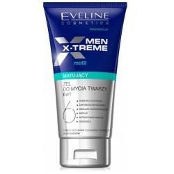 Eveline Men X-Treme 6w1 Matujący żel do mycia twarzy 150ml
