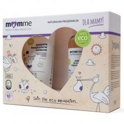 Momme Mother&Baby Natural Care Zestaw dla mamy Kuracja przeciw rozstępom 150ml + Żel do ciała i higieny intymnej 150ml