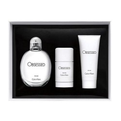 Calvin Klein Obsessed for Men Woda toaletowa 125ml spray + Dezodorant 75ml sztyft + Żel pod prysznic 100ml