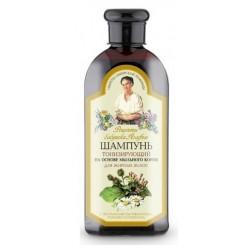 Bania Agafii Tonizujący szampon na bazie korzenia z mydlnicy lekarskiej do włosów przetłuszczających się 350ml