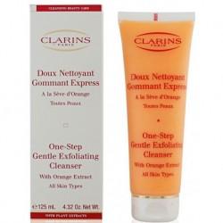 Clarins One Step Gentle Exfoliating Cleanser Łagodny peeling myjący do twarzy z ekstraktem z pomarańczy 125ml TESTER