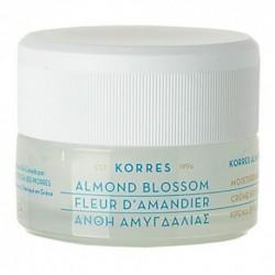 Korres Almond Blossom Moisturizing Cream Nawilżający krem do cery normalnej i suchej z wyciągiem z kwiatu migdałowca 40ml