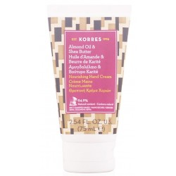 Korres Organic Almond Oil & Shea Butter Hand Cream Organiczny krem do rąk 75ml