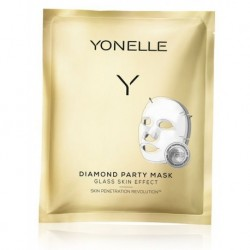 Yonelle Diamond Party Mask Diamentowa maska bankietowa