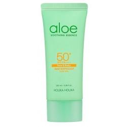 Holika Holika Aloe Soothing Essence Face & Body Waterproof Sun Gel SPF50+ Krem przeciwsłoneczny do twarzy i ciała 100ml