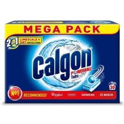 CALGON Powerball Tabs tabletki do prania zmiękczające wodę 30szt