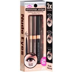 Physicians Formula Shimmer Strips Custom Eye Enhancing Eyeliner Trio Zestaw 3 kredek do oczu Nude Eyes 0,85g