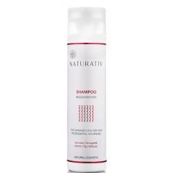Naturativ Regeneration Shampoo For Damaged & Dry Hair Szampon regenerujący do włosów zniszczonych zabiegami 250ml