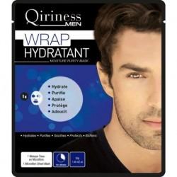 Qiriness Men Wrap Hydratant Moisture Purity Mask maseczka nawilżająco zmiękczająca z kwasem hialuronowym 30g