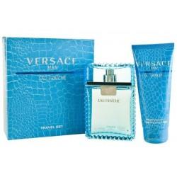 Versace Man Eau Fraiche Woda toaletowa 100ml spray + Żel pod prysznic 100ml