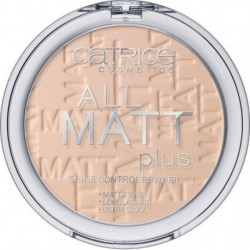 Catrice All Matt Plus Shine Control Powder 12H Puder matujący 010 Transparent 10g