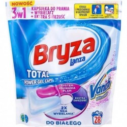 Bryza Vanish Ultra Total Power Gel Caps Kapsułki do prania do bieli 28szt