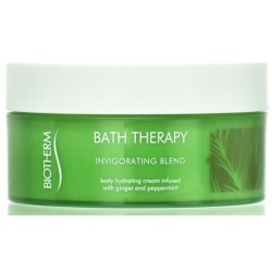 Biotherm Bath Therapy Invigorating Blend Hydrating Cream Krem do ciała Ginger & Peppermint 200ml