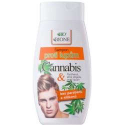 Bione Cannabis szampon przeciwłupieżowy dla mężczyzn 260ml