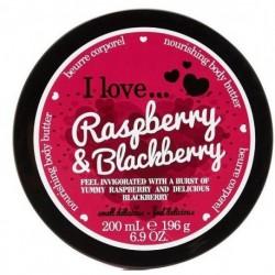 I Love Nourishing Body Butter odżywcze masło do ciała Raspberry & Blackberry 200ml