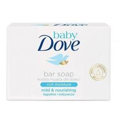 Dove Baby Baby Bar Rich Moisture kremowe mydło w kostce 75g