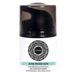Vipera Cos-Medica Acne Prone Skin bio-serum na noc z kwasem azelainowym do cery trądzikowej 30ml