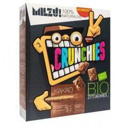 Milzu Crunchies Bio Rye & Oat płatki żytnio-owsiane Cocoa 450g