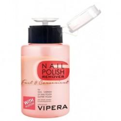 Vipera Nail Polish Remover Fast & Convenient bezacetonowy zmywacz do paznokci z komplesem witamin i gliceryną 175ml
