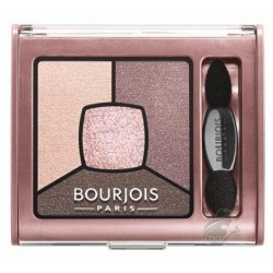 Bourjois Smoky Stories Quad Eyeshadow Palette Cienie do powiek 02 Over Rose 3,2g