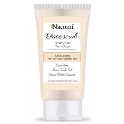 Nacomi Face Scrub peeling nawilżający do twarzy 75ml