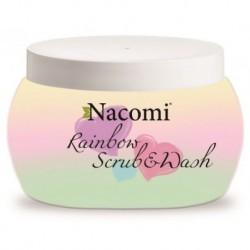 Nacomi Rainbow Scrub-Wash pianka peelingująco-myjąca do ciała 200ml
