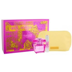 Versace Bright Crystal Absolu Woda perfumowana spray 90ml + MINIATURA spray 10ml+ COSMETIC BAG