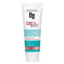 AA Cica Benefit krem regenerująco-łagodzący do twarzy ciała i rąk 50ml