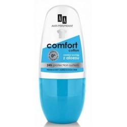 AA Comfort Anti-Perspirant 24h dezodorant w kulce Cotton 50ml