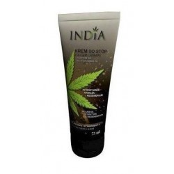 India Foot Cream With CAnnabis Oil krem do stóp z olejem z konopi 75ml