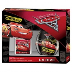 La Rive Disney Cars Woda toaletowa spray 50ml + 2IN1 BATH GEL & SHAMPOO 250ml