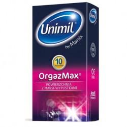 UNIMIL OrgazMax lateksowe prezerwatywy 10sztuk