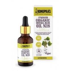 Dr. Konopka`s Strength Organic Herbal Hair Oil N28 wzmacniający olejek do włosów 30ml