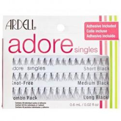Ardell Adore Combo Pack Kępki rzęs Short Black 16szt + kępki rzęs Medium Black 16szt + kępki rzęs Long Blac 16szt